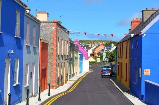 Eyeries Colourful Village West Cork